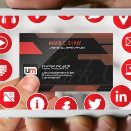 augmented reality for business cards