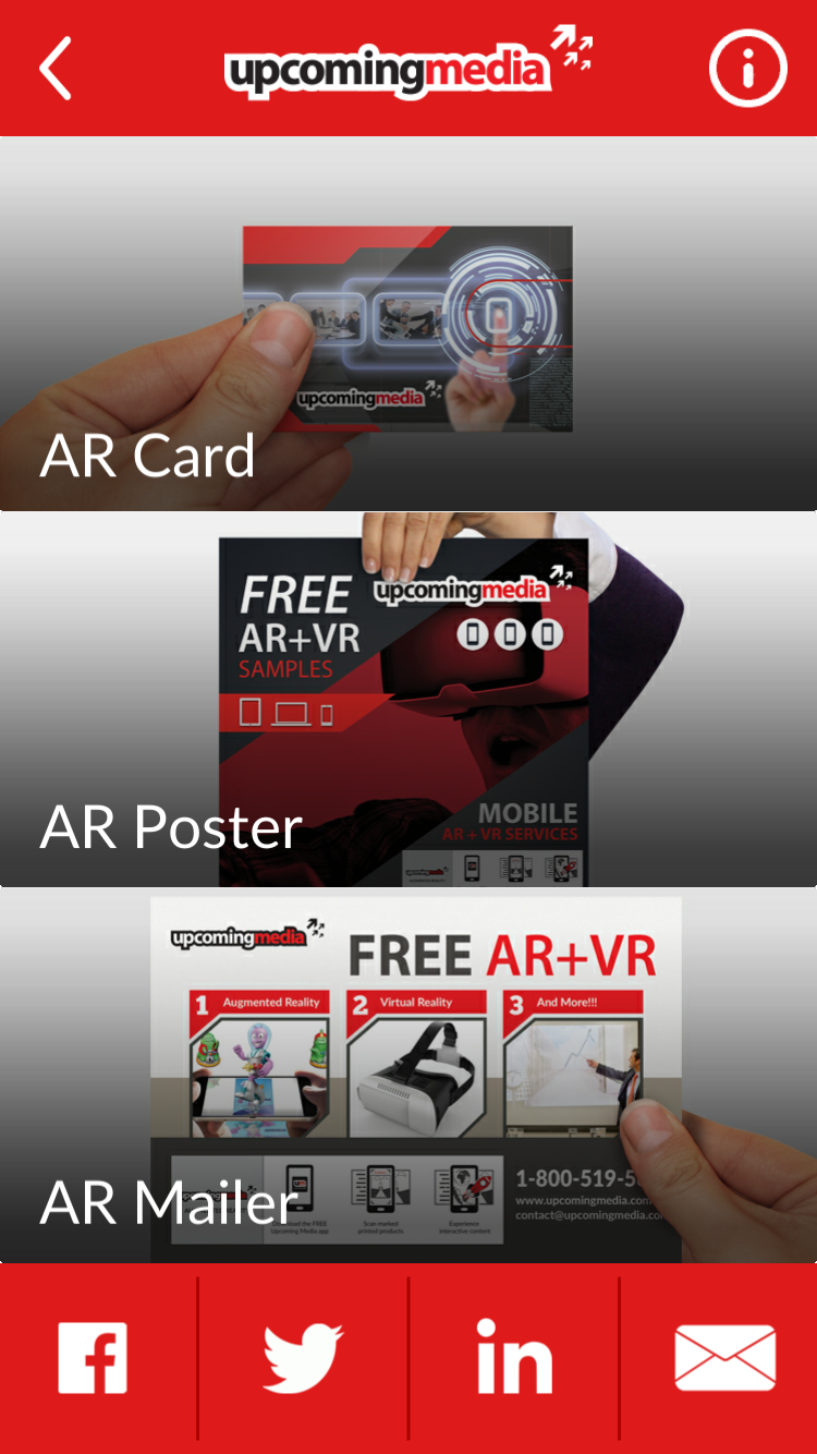 augmented reality interactive poster