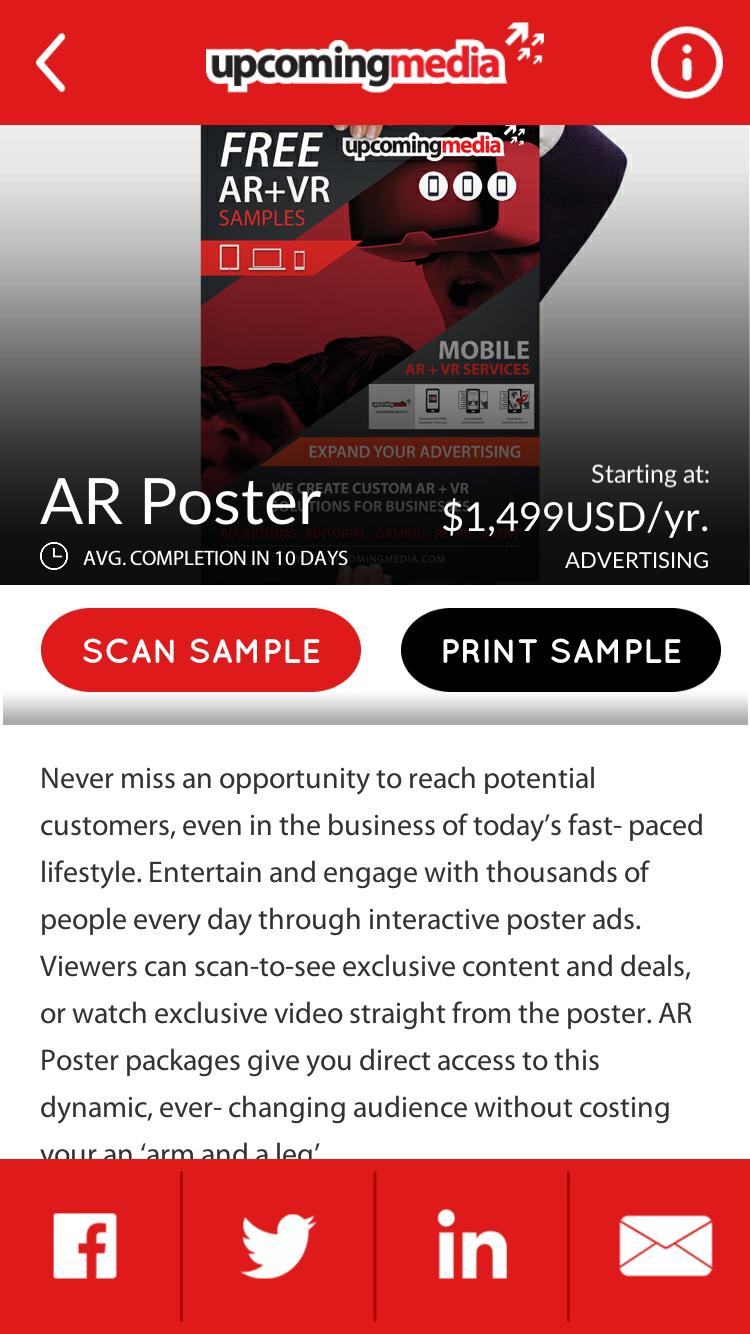 App Showcase Screenshot 2