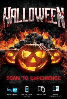 Halloween AR Flyer