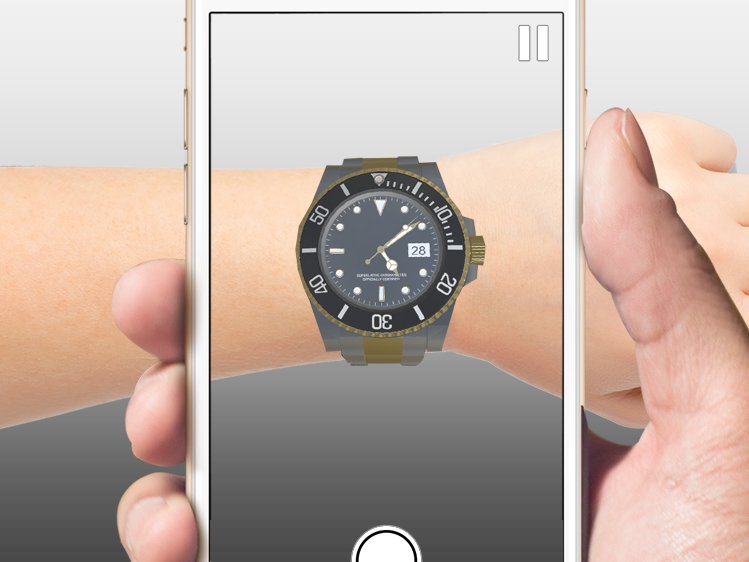 Augmented Reality Watch