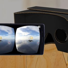 virtual reality cardboard wearable